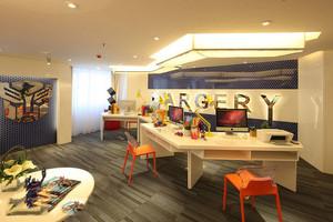 大面积主题办公室装修效果图