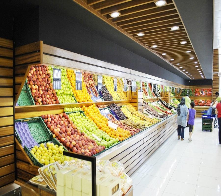 创意水果店装修效果图