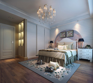 欧式卧室门装修效果图