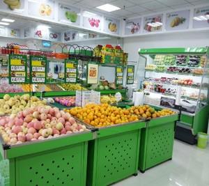 小型高档水果店装修图片