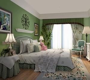 清新淡雅卧室装修设计