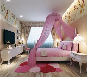 儿童房背景墙设计效果图