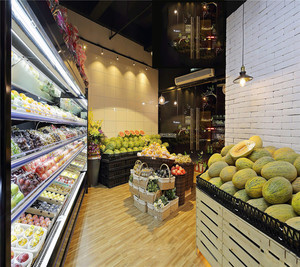 水果店装修设计效果图