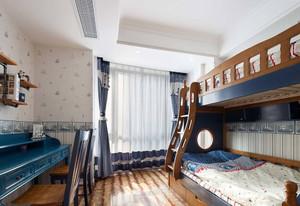 地中海风儿童卧室效果图