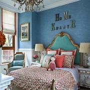 欧式儿童卧室图片