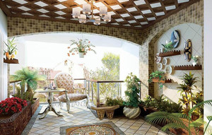室内入户花园装修案例