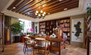 东南亚风格书房装修效果图大全