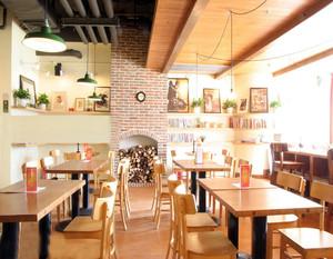 田园风格咖啡厅效果图