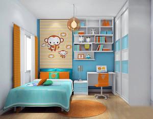 小面积儿童房装修效果图