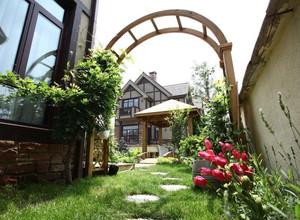 联排别墅入户花园效果图