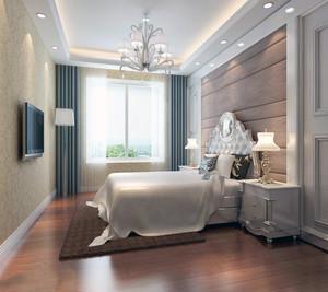 卧室床头墙装修效果图