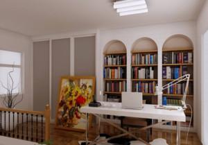 现代复式书房装修效果图大全