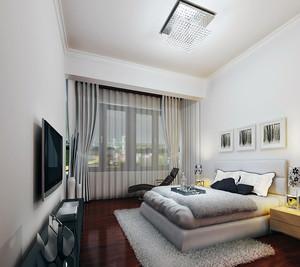 现代简约卧室装修效果图大全