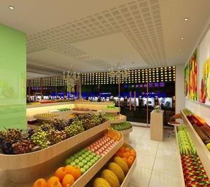 水果店装修设计图