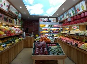 水果店装修与摆设图片
