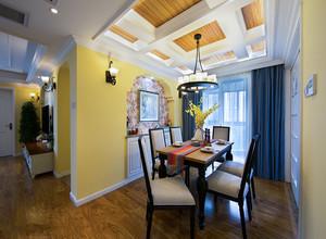 家庭客厅餐厅吊顶装修效果图