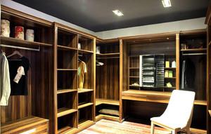 现代风衣帽间整体衣柜装修案例