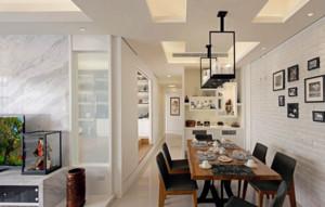 北欧风格家庭餐厅吊顶装修效果图赏析