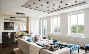 现代风格客厅吊顶装修效果图赏析