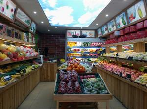 30平方水果店怎么装修效果图