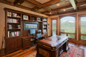 简洁美式书房装修效果图赏析