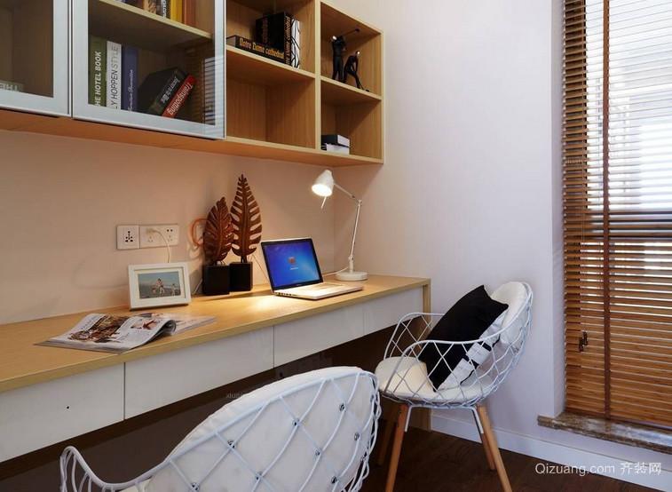 简单北欧书房装修效果图赏析