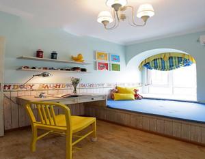 儿童卧室床墙面设计效果图