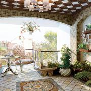 进门小型入户花园设计装修