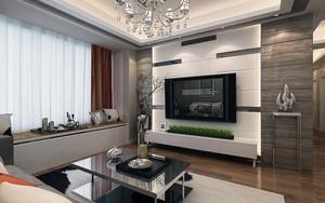 三居室120平米现代简约风格飘窗装修