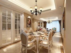 别墅欧式餐厅装修效果图