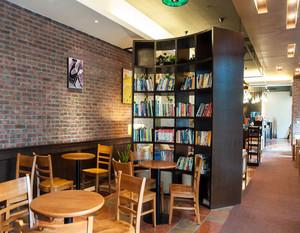 休闲咖啡厅效果图