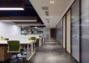 办公室装修效果图-现代简约