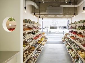 50平米水果店装修图片