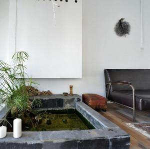 室内入户花园装修案例效果图