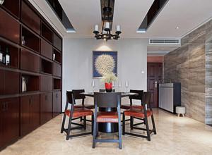 新中式家庭餐厅装修效果图