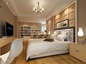 卧室床头软包装修效果图