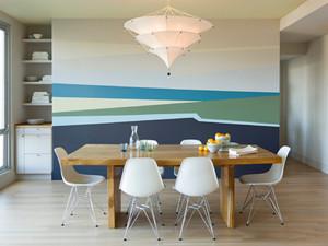 家庭极简餐厅装修效果图
