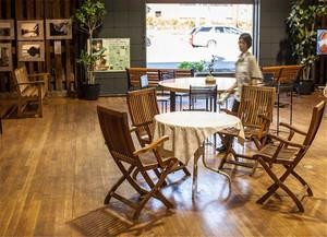 100平米咖啡厅装修效果图
