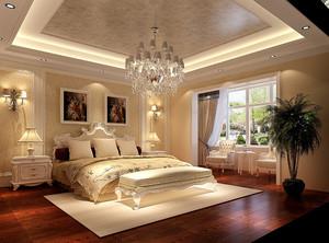 欧式主卧室装修效果图