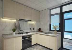 现代风格三居室厨房设计
