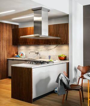 现代风格三居室厨房装修图片