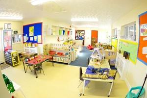 英式风格幼儿园教室装修效果图