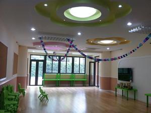 中式风格幼儿园教室装修效果图