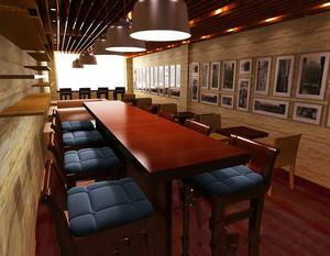 新古典咖啡厅装修效果图