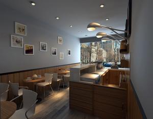 现代咖啡厅效果图
