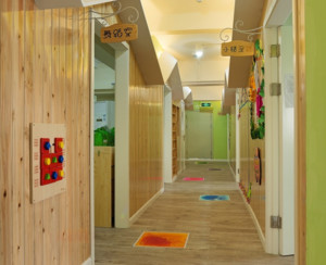 时尚幼儿园走廊装修效果图赏析