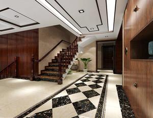 走廊地砖铺贴实景图