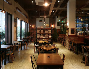40平米咖啡馆装修设计