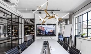 时尚办公室会议室装修效果图赏析
