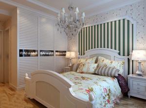 欧式田园风卧室装修效果图大全